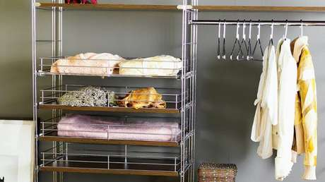 30. O closet aramado é a melhor forma de garantir a organização da casa.