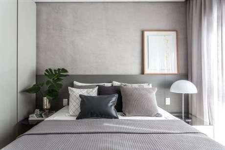 5. Decoração de casa feita em tons de cinza – Foto: pinterest