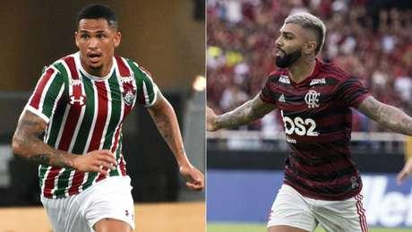 Juntos, somam 28 gols no ano (Foto: Mailson Santana/Fluminense; Delmiro Junior/Photo Premium/Lancepress!)