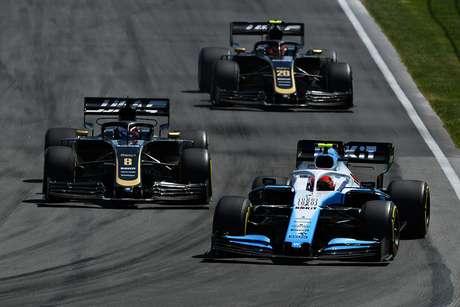 Kubica está tendo dificuldades com a Williams