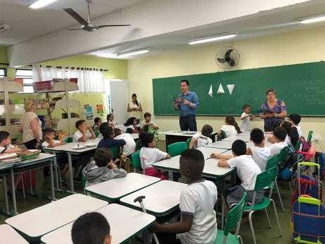 Escola Estadual Cézar Martinez, na grande São Paulo
