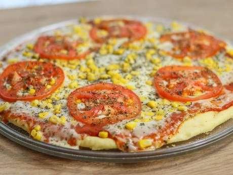 Pizza de micro-ondas da Raissa