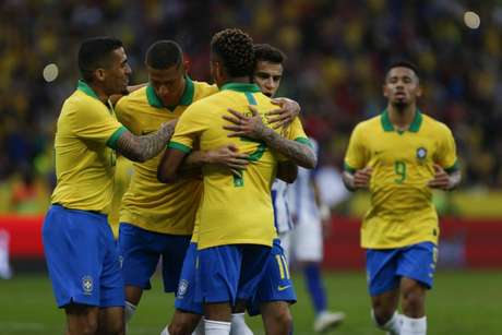 Brasil venceu Honduras por 7 a 0 no último domingo (Foto: Jeferson Guareze/AFP)