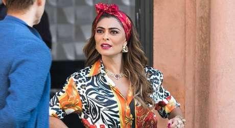 Juliana Paes (Fotos: Raquel Cunha/TV Globo/Divulgação)