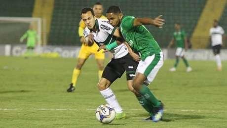 Guarani e Coritiba se enfrentaram no Brinco de Ouro
