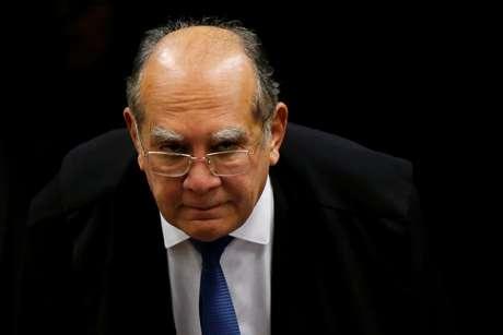 Ministro Gilmar Mendes participa de sessão no STF 11/6/2019 REUTERS/Adriano Machado