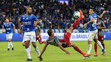 João Pedro tem nove gols pelo Tricolor, o último uma pintura de bicicleta (Foto: Lucas Merçon / Fluminense)