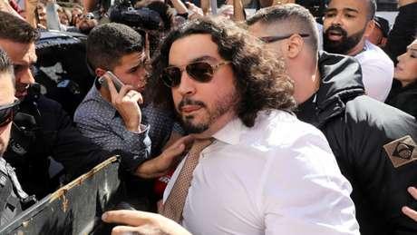 O advogado Danilo Garcia de Andrade informou que deixou o caso e não irá defender a modelo (Foto: Reprodução)