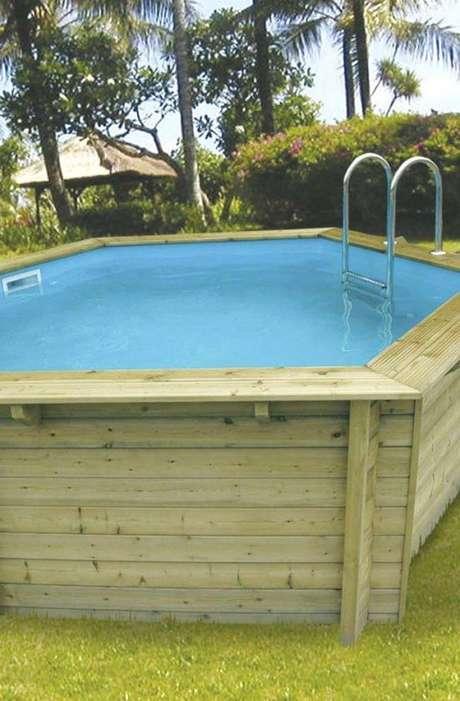 16. A piscina de paletes é simples e fácil de fazer! – Foto: Pinterest