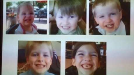 Jones dirigou por nove horas com os corpos dos filhos no carro