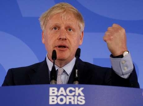 Candidato a premiê britânico Boris Johnson 12/06/2019 REUTERS/Henry Nicholls