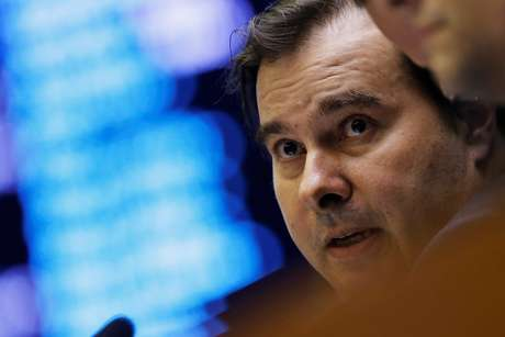 Presidente da Câmara dos Deputados, Rodrigo Maia, durante sessão da Casa 22/05/2019 REUTERS/Adriano Machado