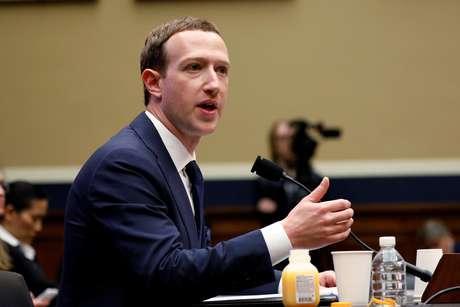Presidente do Faceboo, Mark Zuckerberg testemunha perante Comitê do Congresso dos EUA. 11/4/2018. REUTERS/Aaron P. Bernstein
