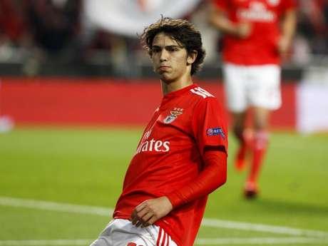 João Félix se animou com a possibilidade de jogar no Atletico de Madrid (Foto: Reprodução/Twitter)