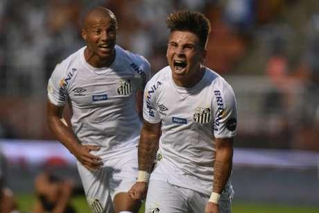 Soteldo marcou pela última vez contra o Vasco há um mês, no Pacaembu (Foto: Divulgação/ Twitter)