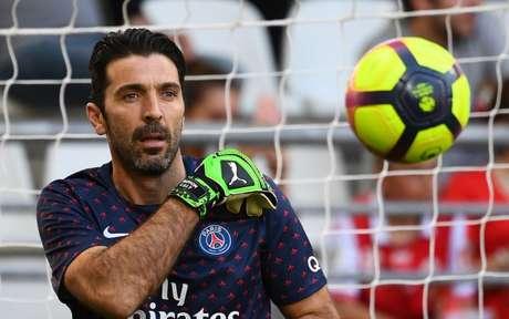 Buffon anunciou saída do PSG (Foto: Franck Fife / AFP)