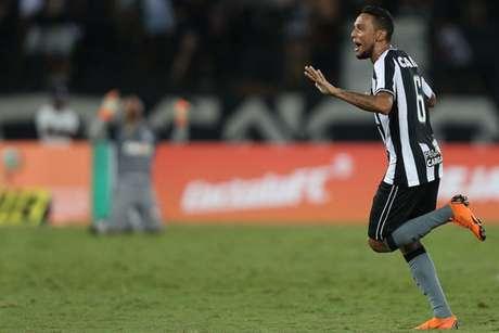 Gilson foi o herói contra o Grêmio, no ano passado (Foto: Vitor Silva/SSPress/Botafogo)