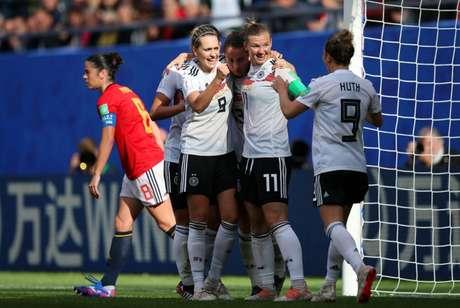 Alemanha conseguiu importante vitória (Foto: Reprodução)