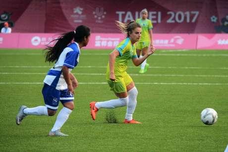 Atual medalha de ouro, a seleção feminina do Brasil estreia na Universíade de Napoli contra a Irlanda (Divulgação)