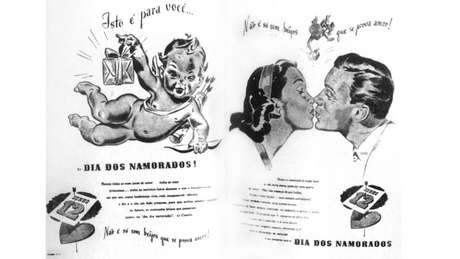Slogan de propaganda do Dia dos Namorados criada por João Doria
