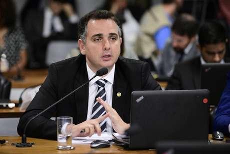 Senador Rodrigo Pacheco (MG), líder do DEM na Casa e relator da proposta para endurecera lei de abuso de autoridade