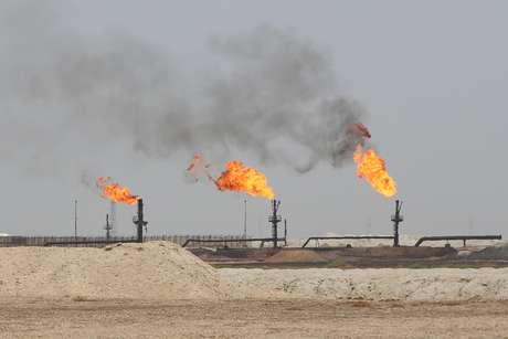 Campo de petróleo West Qurna-1 em Baçorá, Iraque 20/05/2019 REUTERS/Essam Al-Sudani