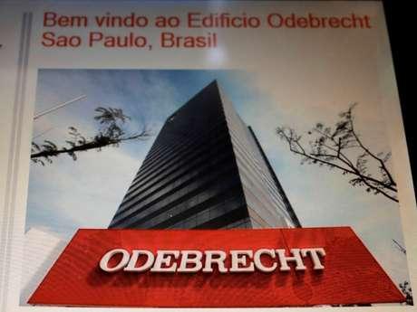 Logo da Odebrecht 03/08/2018 REUTERS/Paulo Whitaker