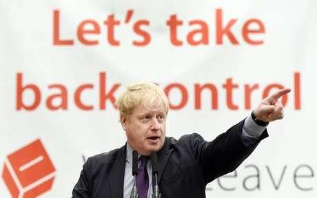 Boris Johnson liderou campanha pelo Brexit em 2018