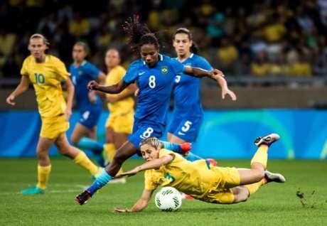 Brasil e Austrália se enfrentaram na Rio 2016