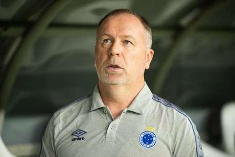 Mano foi direto e não poupou a equipe celeste de críticas por mais um mau resultado- Bruno Haddad/Cruzeiro