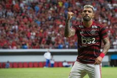 Gabigol marcou novamente (Alexandre Vidal/Flamengo)