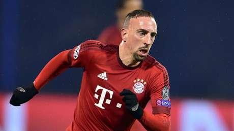 Francês em campo pelo Bayern de Munique (Foto: AFP)