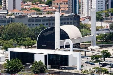 Vista geral do Memorial da América Latina