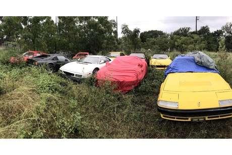 Coleção tem modelos clássicas da Ferrari