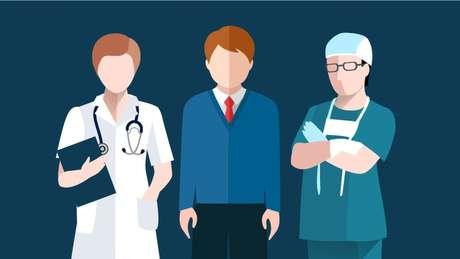 O estudo analisou como os pacientes veem diferentes formas de vestuário para médicos em diferentes contextos e especialidades