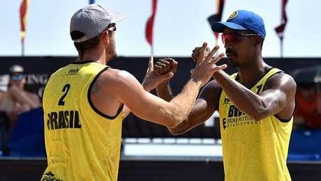 Oscar (esq.) e Thiago vão representar o Brasil na Pan de Lima