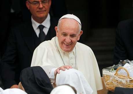Papa Francisco recebe fieis no Vaticano 08/06/2019 REUTERS/Remo Casilli