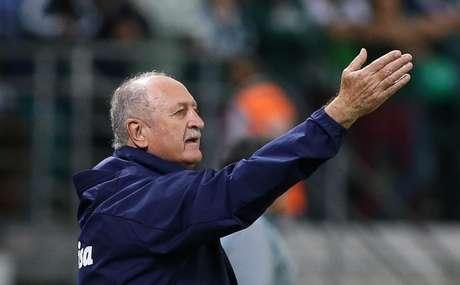 Felipão segue sem perder no Brasileirão desde que retornou ao Palmeiras, em julho de 2018 (Foto: Divulgação/Twitter)
