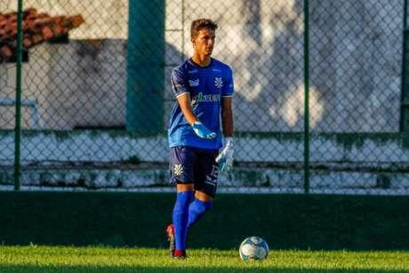 Goleiro do Rio São Paulo prevê duelo equilibrado contra o Bela Vista (Foto: Raphael Santos/ La Marca)