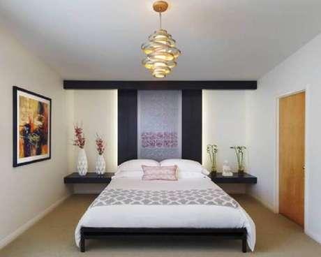 32. Modelo super moderno de lustres para quarto
