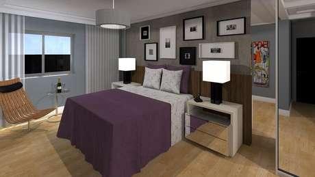 3. É possível encontrar diversos modelos de lustres para quarto