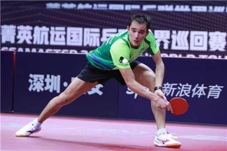 Hugo Calderano não resistiu a adversário de Taiwan nas quartas de final no Aberto do Japão (Foto: Divulgação/ITTF)