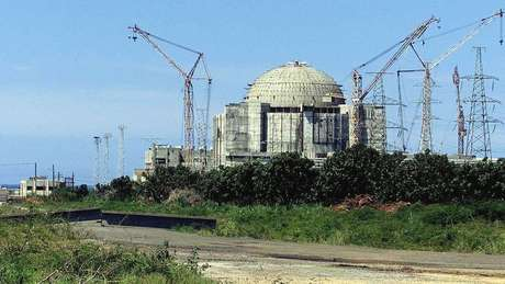 A usina de Juraguá, em Cuba, nunca chegou a entrar em operação