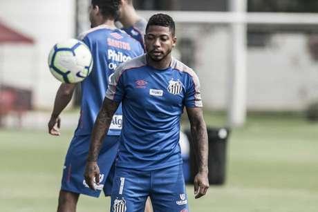 Marinho diz se sentir à vontade no Santos (Ivan Storti/Santos FC)