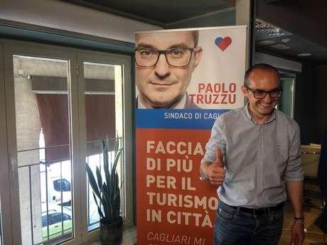Paolo Truzzu foi eleito prefeito de Cagliari no primeiro turno