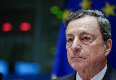 O presidente do Banco Central Europeu, Mario Draghi