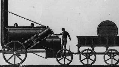 O motor a vapor substituiu a tração animal na indústria