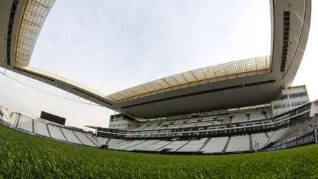 Boato dizia que Arena Corinthians sofreria corte de luz, mas foi negado por empresa (Foto: Bruno Teixeira)