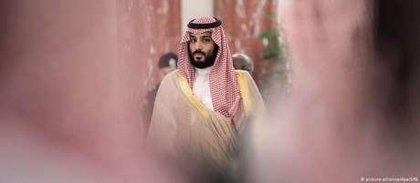 Príncipe herdeiro Mohammed bin Salman