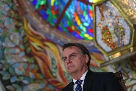 Presidente da República, Jair Bolsonaro durante Visita ao Mosteiro das Irmãs Clarissas na Fazenda da Esperança